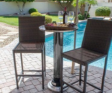 Patio Heater Table