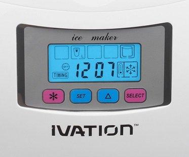 Portable Ice Maker display