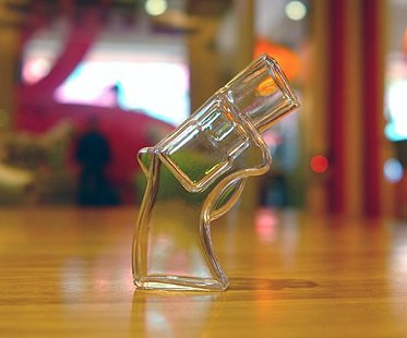 Revolver Gun Shot Glass shooter
