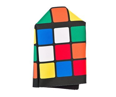 Rubik's Cube Tissue Box Cover puzzle