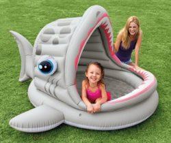 Shark Inflatable Shade Pool