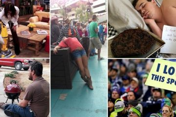 Super Bowl Party Fails