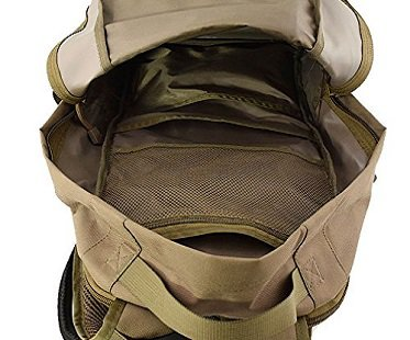 Tactical Baby Gear Backpack bag inside