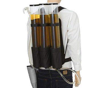 Triple Drinks Dispenser Backpack