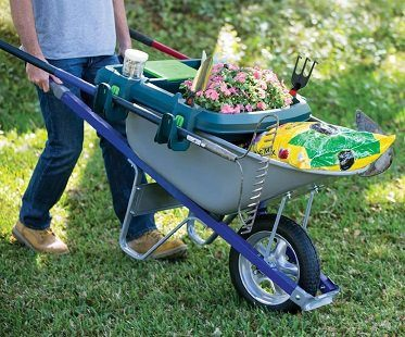 Wheelbarrow Organizer