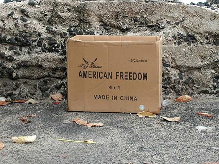 american freedom made in china ironic images
