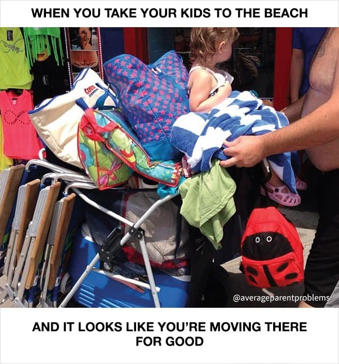 average-parent-problems-beach