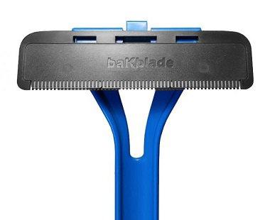 back shaver blade