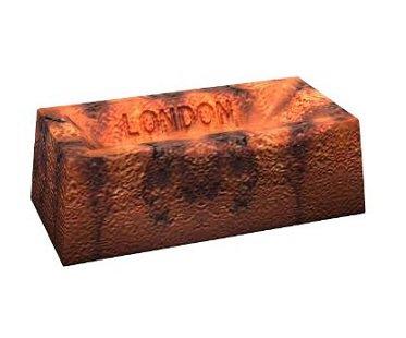brick cake mold london
