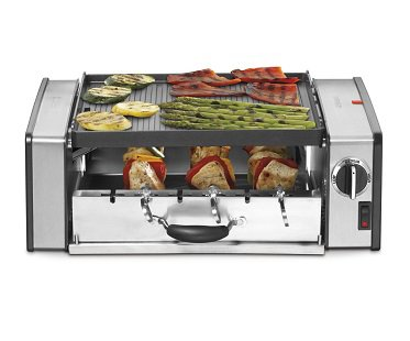 compact grill cooker