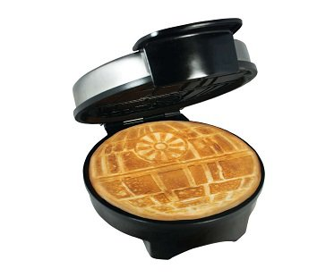 death star waffle maker machine
