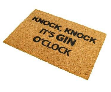 gin o'clock doormat home