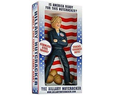 hillary clinton nutcracker box