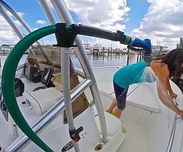 hose holder boat