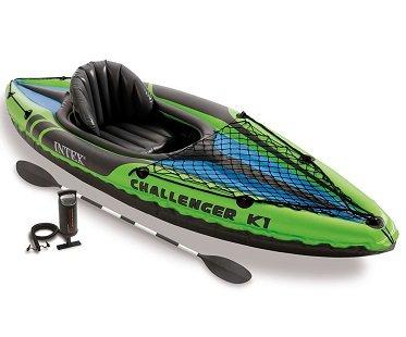 inflatable kayak set 1 person
