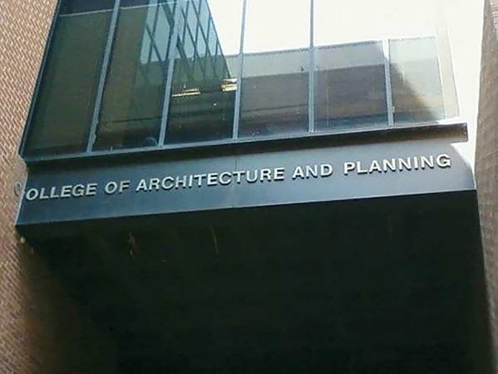 ironic images college of architechure and planning