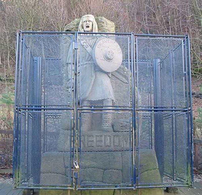 ironic images freedom statue