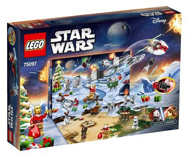 lego star wars advent calander box