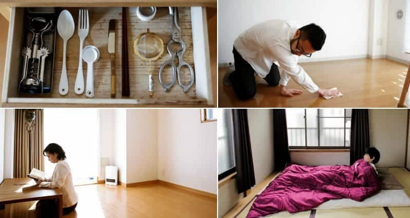 21 photos to show you what it 39 s like living in a for Minimalist japanese homes