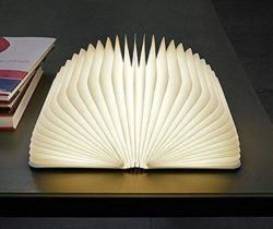 open book lamp