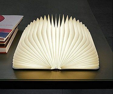 open book lamp