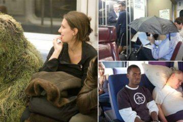 public transport crazies