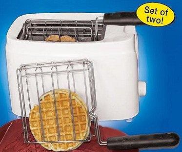 toaster baskets waffle