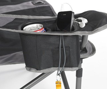 2 Person Camping Chair drink holder