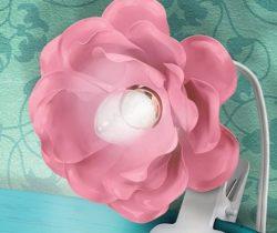 Clip-on Flower Lamp