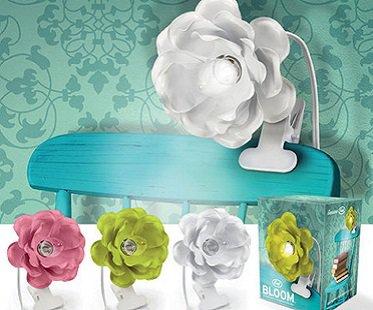 Clip-on Flower Lamp colours
