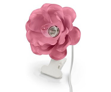 Clip-on Flower Lamp pink