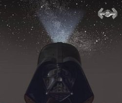 Darth Vader Star Projector