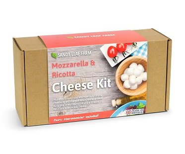 Mozzarella and Ricotta Cheese Making Kit box