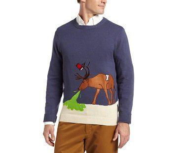Reindeer Hangover Christmas Sweater