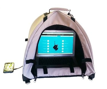 Sun Shade Laptop Case lap dome