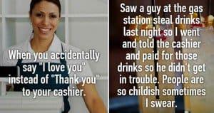 awkward customer