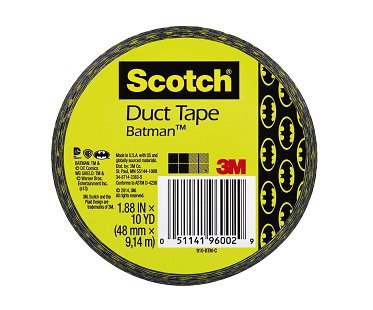 batman duct tape scotch sticky