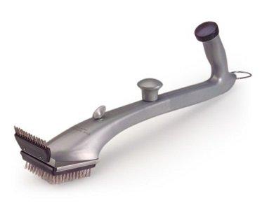 bbq steam brush clean