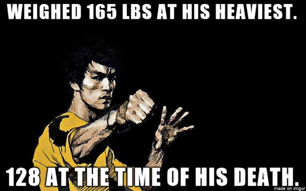 bruce-lee-facts-weight