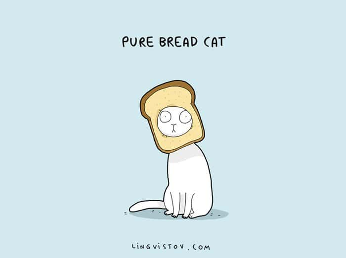 cat-puns-bread