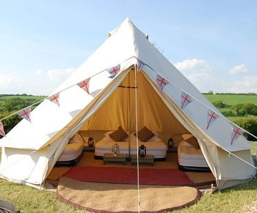 glamping tent camping outdoor