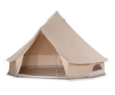 glamping tent camping
