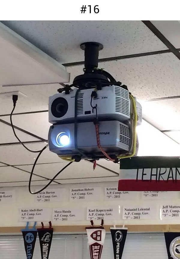 health and safety projector