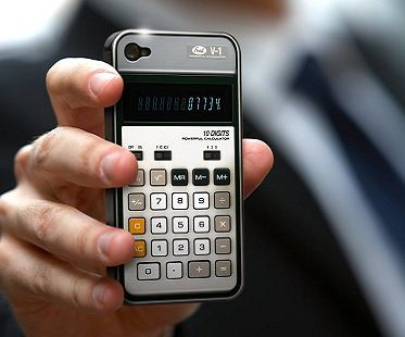 iPhone Calculator Cover