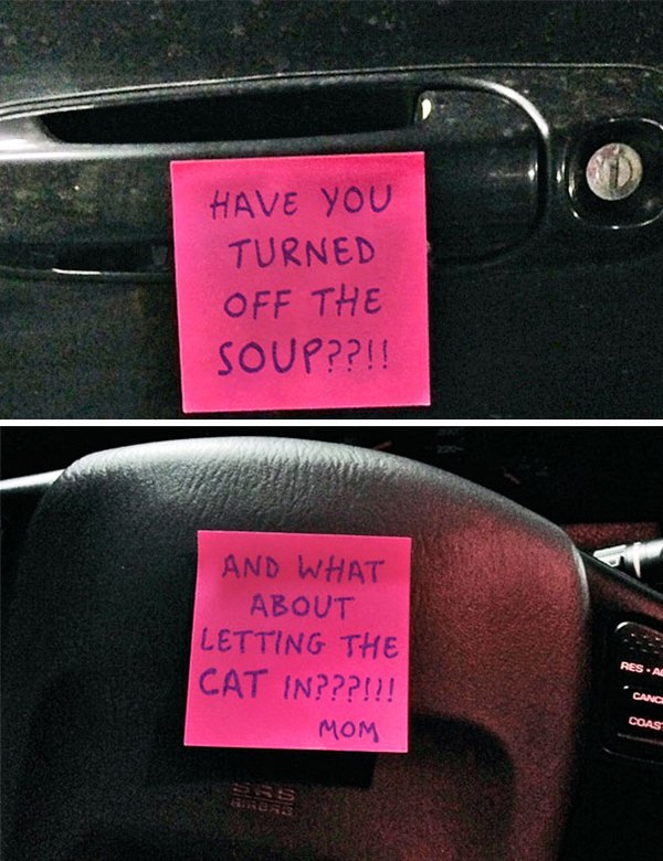 notes from parents have you turned off the soup