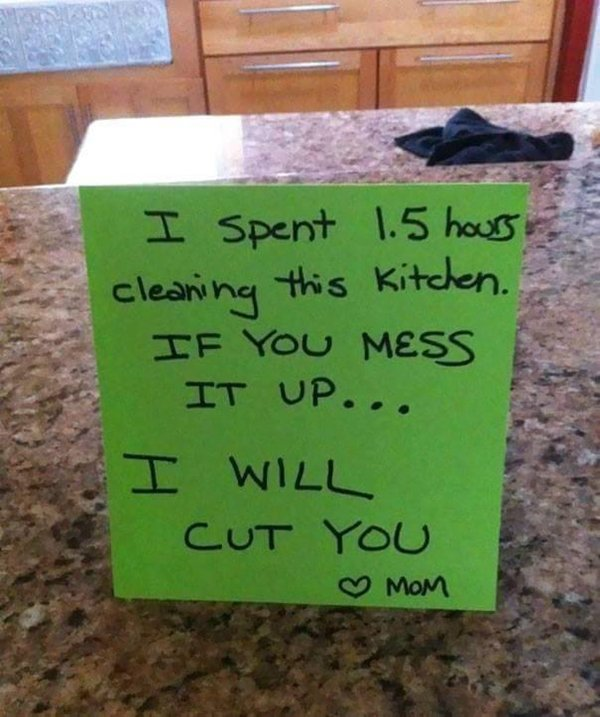 notes-from-parents-loved-ones-kitchen