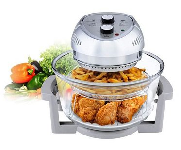 oil-less fryer cooker