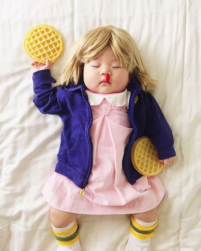 sleeping-baby-cosplay-eleven