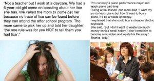 things parents said to teachers