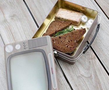 tv lunch box tin